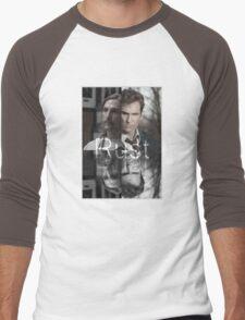Rust Cohle 1995-2014 from True Detective, HBO Men's Baseball ¾ T-Shirt