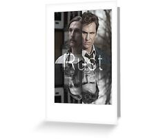 Rust Cohle 1995-2014 from True Detective, HBO Greeting Card
