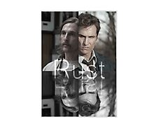 Rust Cohle 1995-2014 from True Detective, HBO Photographic Print