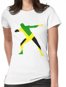 Usain Bolt Womens Fitted T-Shirt