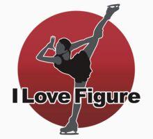 I Love Figure Kids Clothes