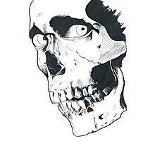Evil Dead Skull Photographic Print