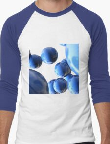 colored balls Men's Baseball ¾ T-Shirt