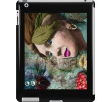the red heart of a stone lady iPad Case/Skin
