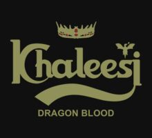 khaleesi Dragon Blood logo by LgndryPhoenix