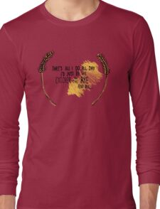 I'd Just be the Catcher in the Rye Long Sleeve T-Shirt