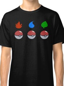 Pokemon - Starter Choice Classic T-Shirt