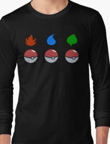 Pokemon - Starter Choice Long Sleeve T-Shirt