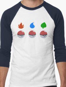 Pokemon - Starter Choice Men's Baseball ¾ T-Shirt