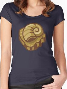 Almighty Helix Fossil Women's Fitted Scoop T-Shirt