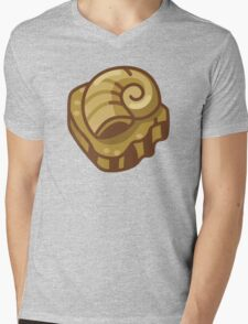 Almighty Helix Fossil Mens V-Neck T-Shirt