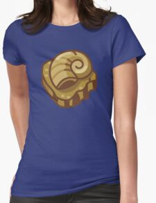 Almighty Helix Fossil Womens Fitted T-Shirt