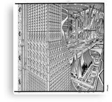 Future city. Canvas Print