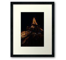 Lights on the Tower Framed Print