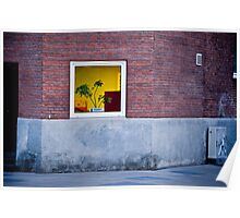 Plant in a Window Poster