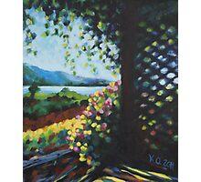 """Oyama"" 2011 - acrylic on canvas Photographic Print"