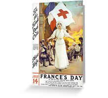 France's Day Greeting Card