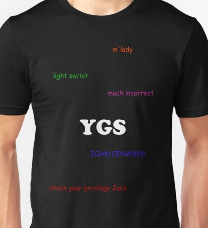 Jacksfilms inside memes Unisex T-Shirt