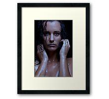 Wet: Margaret Framed Print