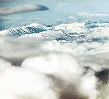 The Southern Alps and Cloud  by PictureNZ