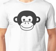 Cute Monkey Face Unisex T-Shirt