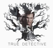 Rust Cohle tree from True Detective, HBO Baby Tee