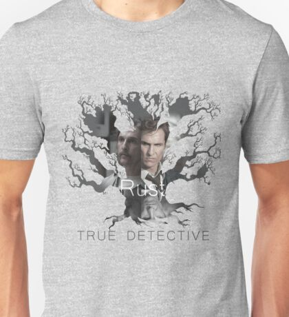 Rust Cohle tree from True Detective, HBO Unisex T-Shirt
