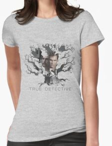 Rust Cohle tree from True Detective, HBO Womens Fitted T-Shirt