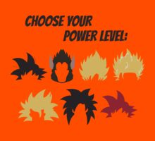 Choose Your Power Level by KaisCanvas