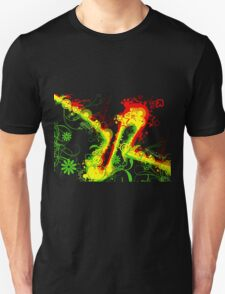 Abstract Rasta T-Shirt