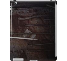 tools on rust iPad Case/Skin