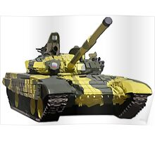 Army Tank Poster