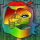 Another Picasso cartoon by IrisGelbart