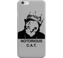 Notorious C.A.T. iPhone Case/Skin