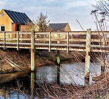 Cabins by the bridge by Ovation66