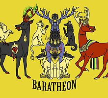 Baratheon Stags by kisindian