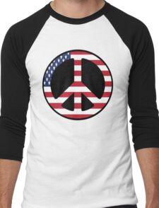 American Peace  Men's Baseball ¾ T-Shirt