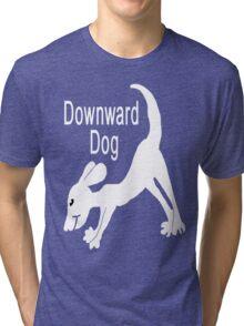 Downward Dog Shirt Tri-blend T-Shirt