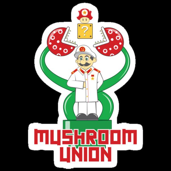 Mushroom Union by Vitaliy Klimenko