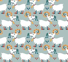 Goat phone case by Nanette Regan
