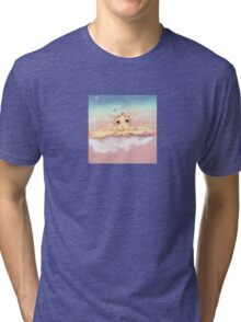 On the clouds Tri-blend T-Shirt