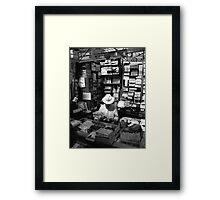 Dublin stallholder Framed Print