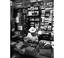 Dublin stallholder Photographic Print