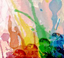 Watercolour Ducklings by Duckeh3