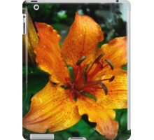 orange lily iPad Case/Skin