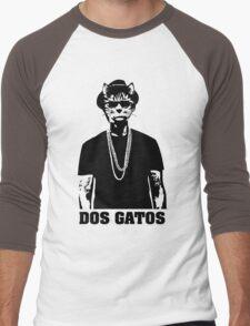 Dos Gatos Men's Baseball ¾ T-Shirt