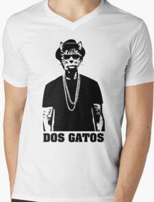 Dos Gatos Mens V-Neck T-Shirt