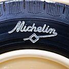 Old Michelin tire by Jeremy  Barré