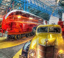 Duchess of Hamilton - NRM - York - HDR by Colin J Williams Photography