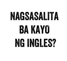 Do you speak English? (Filipino) by EnglishAbroad